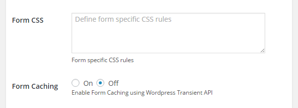 Configure how your form will work