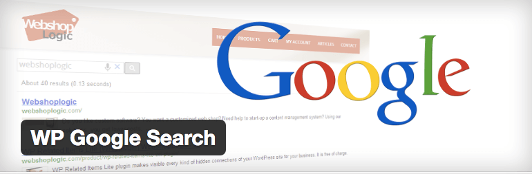 WP Google Search plugin