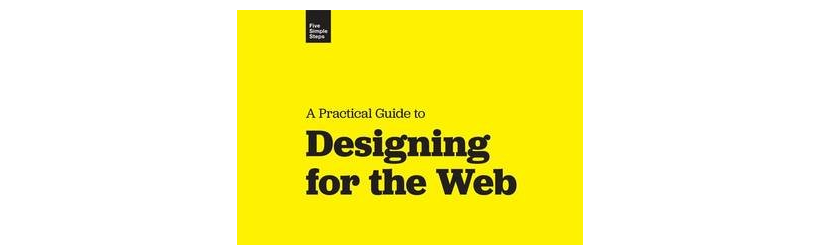 A screenshot of Designing for the Web's cover.
