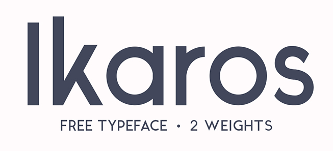 Screenshot of the Ikaros header.