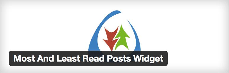 Most And Least Read Posts Widget plugin