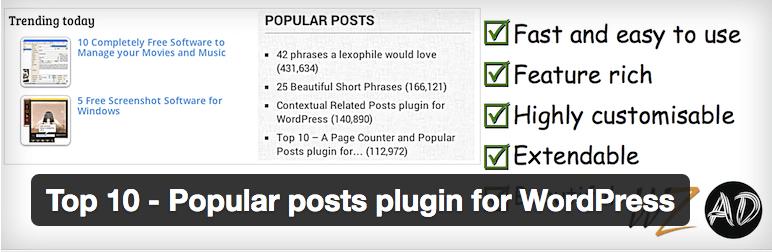 Top 10 Popular Posts plugin for 6 Best Popular Post Plugins for WordPress
