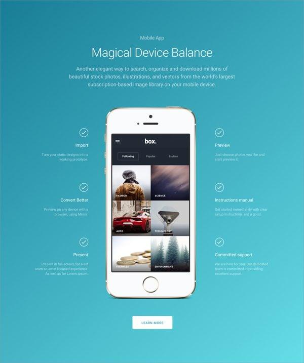 Download the ultimate free divi landing page layout kit elegant 07 malvernweather Choice Image