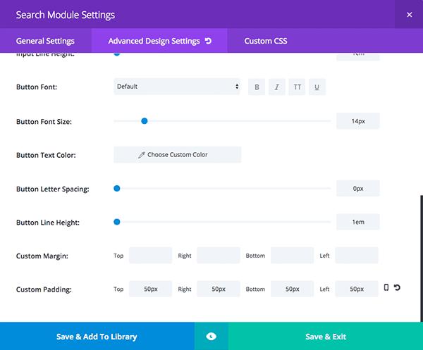 Divi-Search-Module-Settings