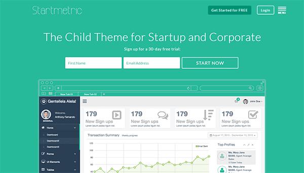 Premium Divi Child Themes Startmetric
