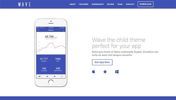 Premium Divi Child Themes Wave
