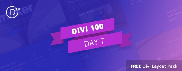 free divi layout pack for modern homepages single page websites