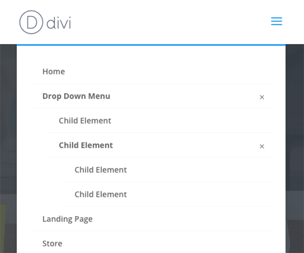 divi-mobile-menu-expanded-3