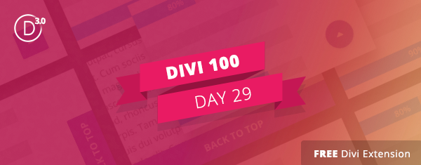 Free Divi Extension: Alternate Back To Top Button Styles & Animations