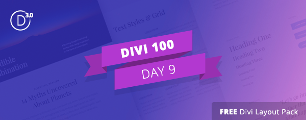 Free Divi Font Combination Layout Pack: 1 Beautiful Layout Design, 10 Ideal Font Pairings