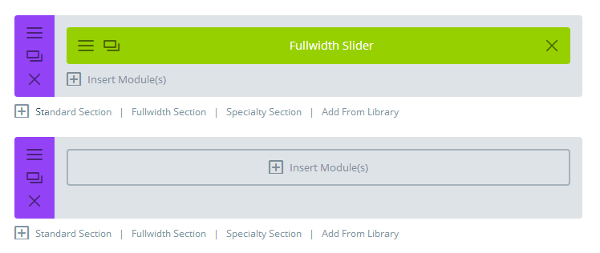 Divi Library Fullwidth Slider