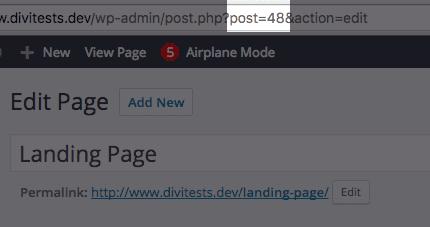 hide-divi-logo-page-id