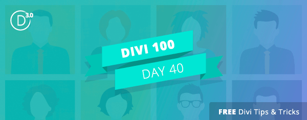 5 Ways to Get Creative with Divi's Person Module