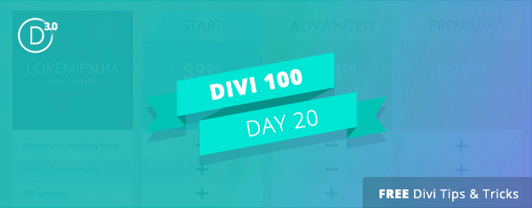 5 Pricing Best Practices You Should Be Using with Divi's Pricing Table Module