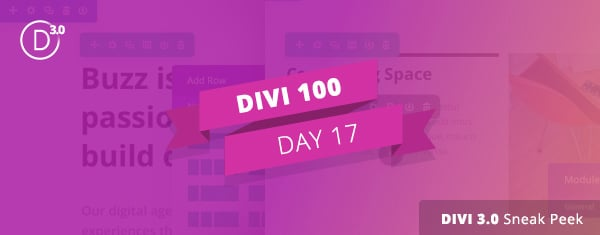 Divi 3.0 Sneak Peek: A Glimpse At The New Visual Editing Experience