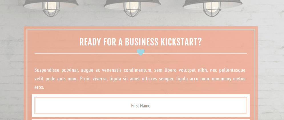 A screenshot of the Versatile demo site.