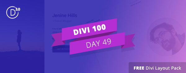 Free Divi Download: The Profile Pages Layout Pack