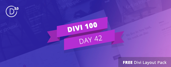 Download The Free Divi Contact Pages Layout Pack