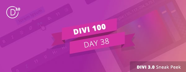 Divi 3.0 Sneak Peek: A Look At Divi's Upcoming Inline Editing Capabilities