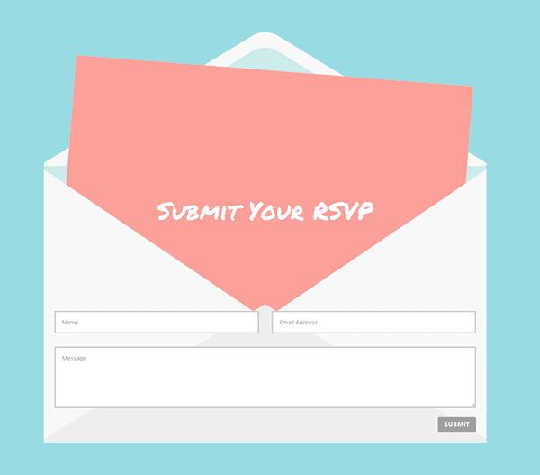 envelope-divi-contact-form