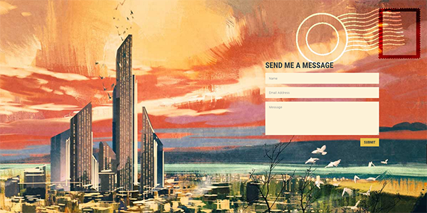 postcard-divi-contact-form