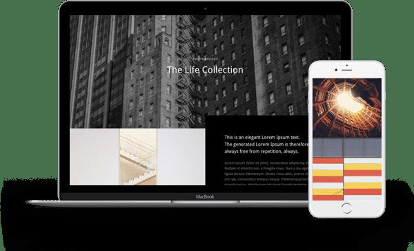 single-page-portfolio-layout-mockup