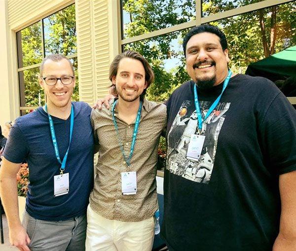 Tim Strifler, Nick Roach and Geno Quiroz.
