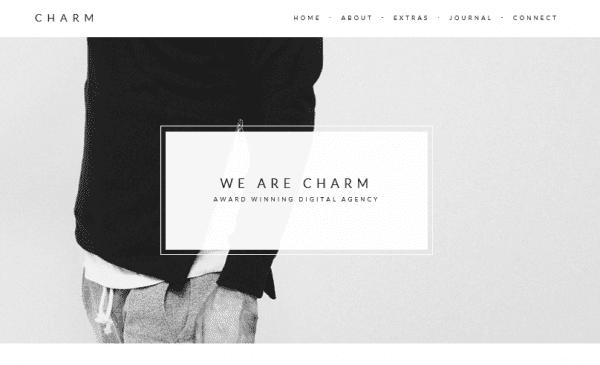 The Charm theme.