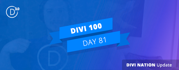 Community Update: Divi 3.0 Beta, Powered by Divi T-Shirts, & Upcoming WordCamps–Divi Nation Short