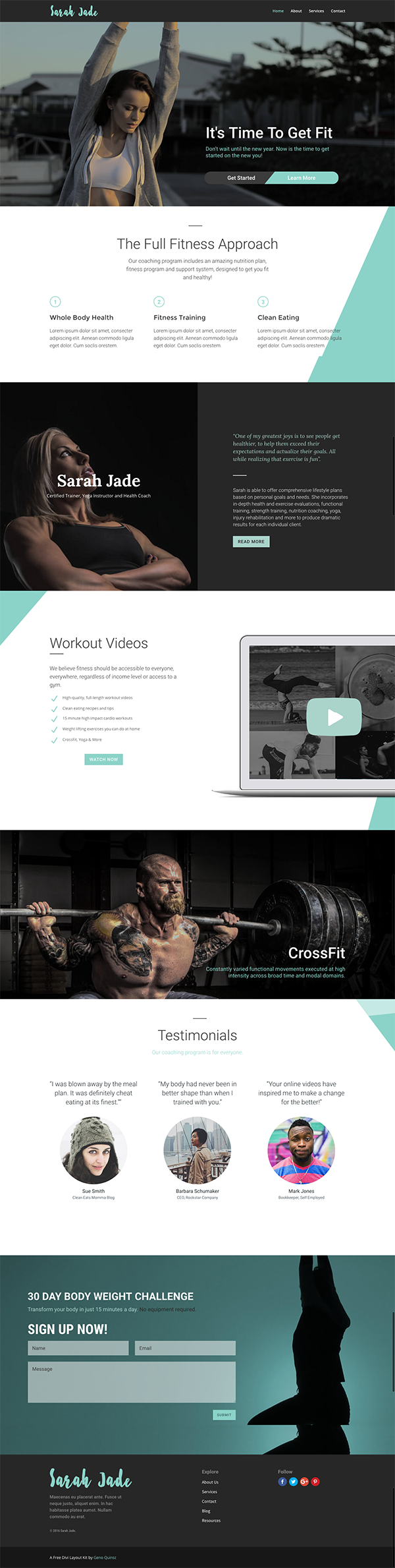 Divi-Crossfit-Fitness-Layout-Pack-Home