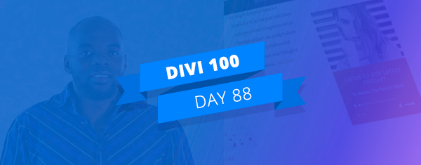 How to Make Any Divi Page Element Sticky–Divi Nation Short