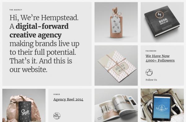 The Hempstead theme.