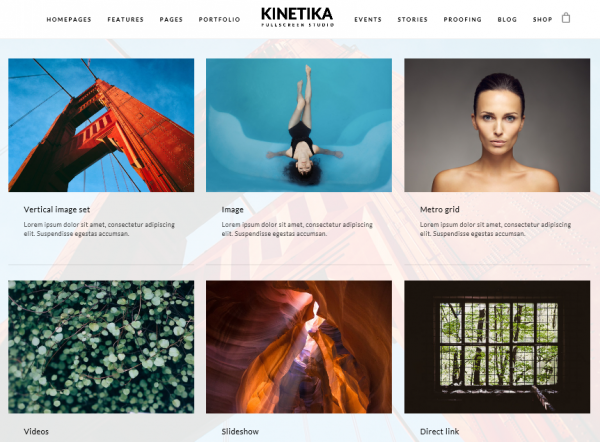 The Kinetika theme.