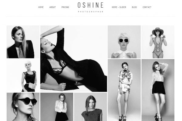 The Oshine theme.