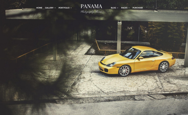 The Panama theme.