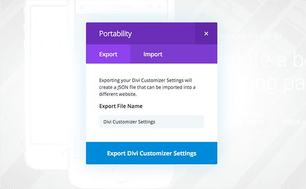 customizer-portability-modal