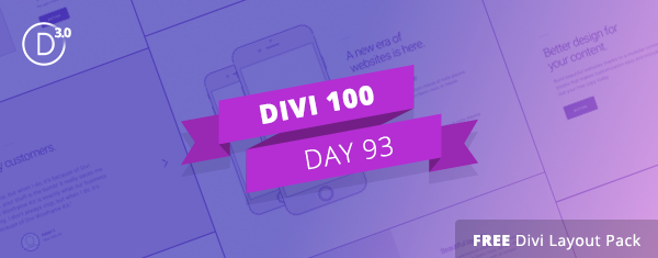 Download the Free Divi Wireframe Kit Vol. 3 Today