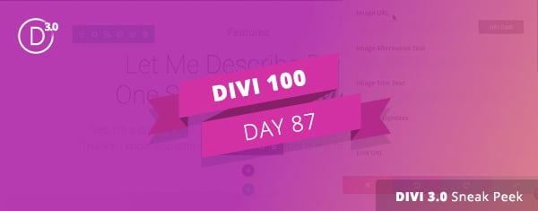 Divi 3.0 Video Sneak Peek #3: Editing Content On Your Page With The New In-line Editor