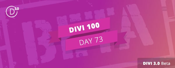 Join The Divi 3.0 Beta Program