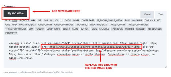 text-module-image-link