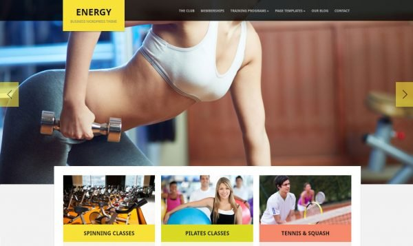 15+ Best WordPress Themes for Sports Teams and Gyms in