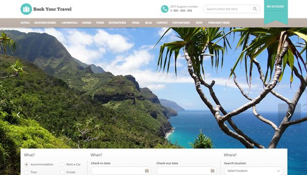 20+ Best WordPress Travel Themes Perfect for Hotels, Travel Agencies ...