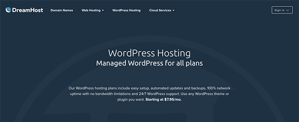 dreampress-managed-wordpress-hosting
