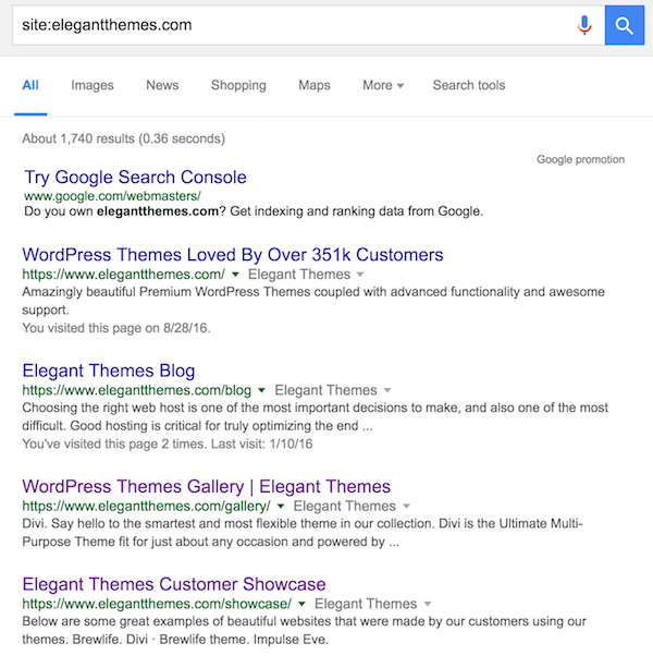 how to get your wordpress site indexed by google quickly elegant