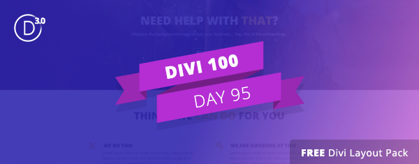 Get the Free Small Business Divi Layout Pack by Olga Summerhayes