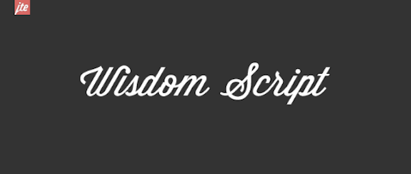 30 Free Cursive Fonts for When Your Website Needs That Special ...