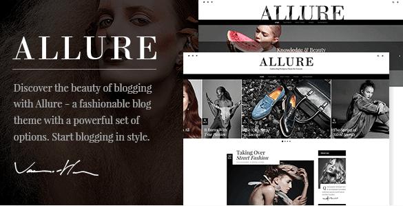 The Allure theme.