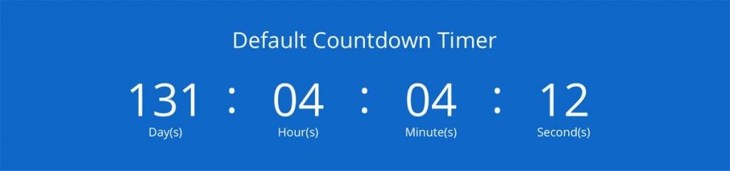 default-divi-countdown-module