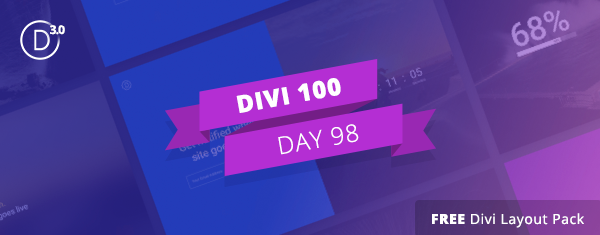 Download the Free Divi Coming Soon Pages Layout Kit