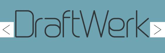 The DraftWerk font.